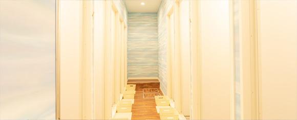 カルド宮崎店のシャワールーム