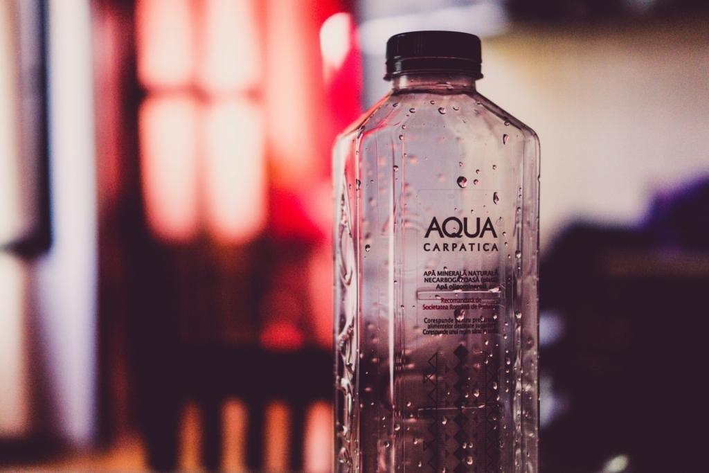 水素水を飲み終わったボトル