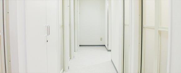 カルド堀江店のシャワールーム