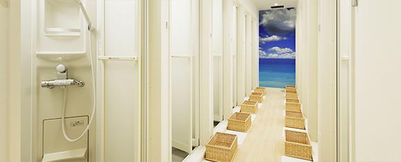 カルド千葉中央店のシャワールーム