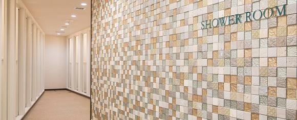 カルド大泉学園店のシャワールーム