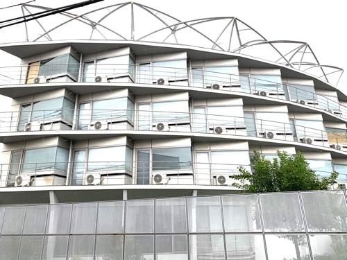 アミーダヨガアカデミーの宿泊施設全体像
