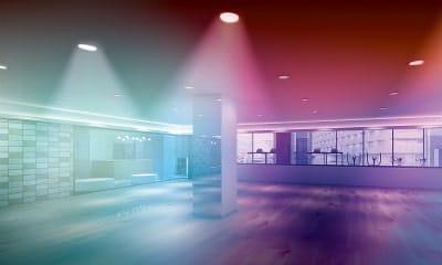 カルドGINZA9の暗闇スタジオ