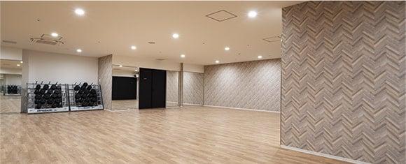 カルド仙台一番町店の常温スタジオ
